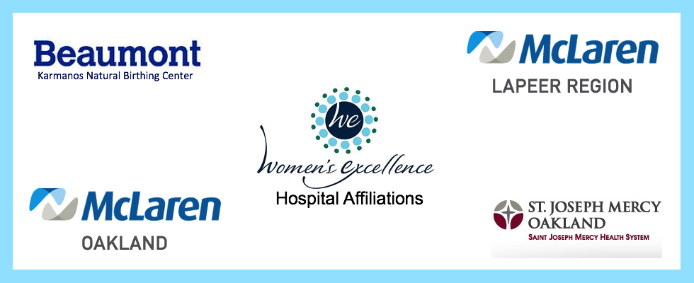 Women's Excellence Hospital Affiliations